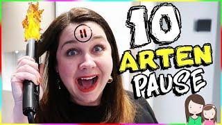 10 ARTEN der PAUSE CHALLENGE  ⏯️ FERNGESTEUERT! Alles Ava