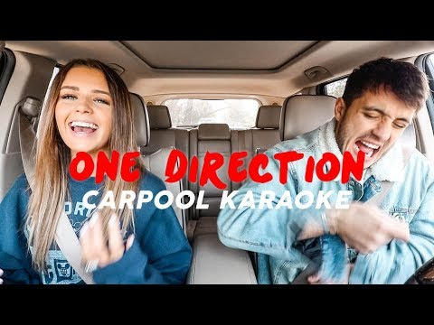 Husband & Wife ONE DIRECTION Carpool Karaoke!