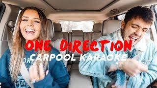 Husband & Wife ONE DIRECTION Carpool Karaoke!