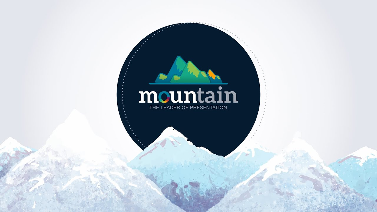 Mountain powerpoint presentation template youtube toneelgroepblik Gallery