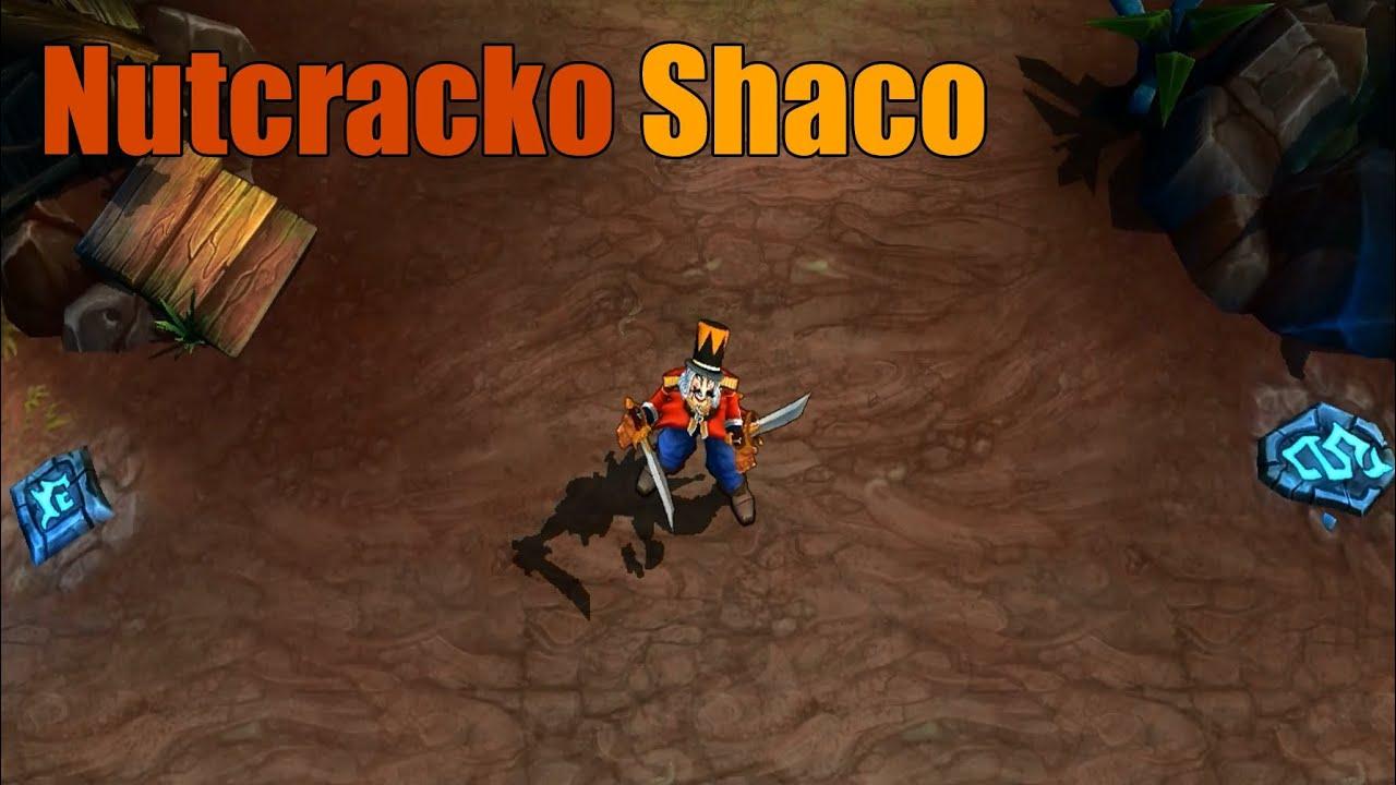 league of legends - nutcracko shaco skin