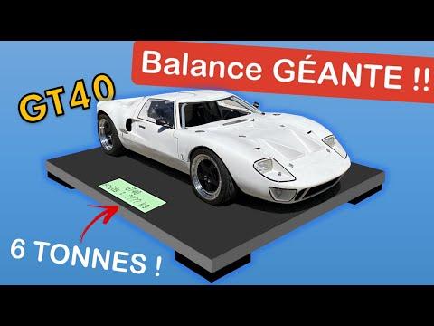 PESER une VOITURE !? Balance XXL feat Abrège