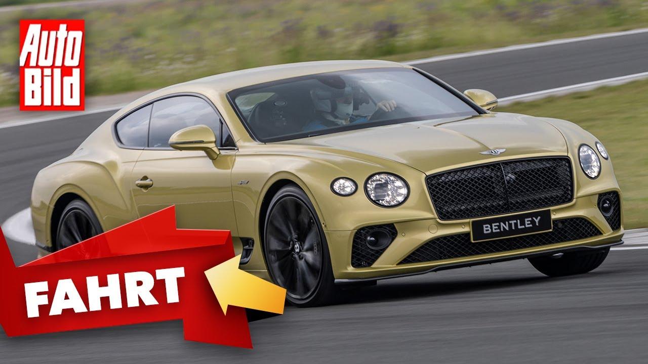 Bentley Continental GT Speed (2021) | So fährt der neue GT Speed | Fahrt mit Alexander Bernt