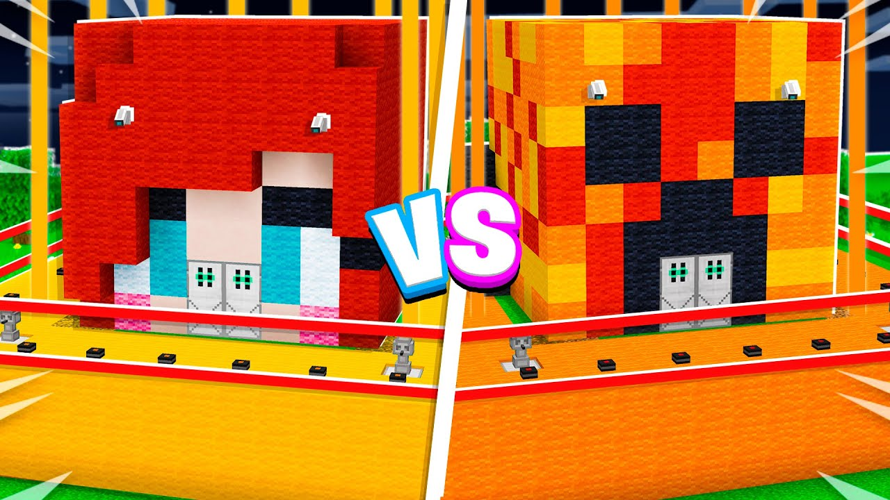 Download MOST Secure House Battle vs My Little Sister! - Minecraft