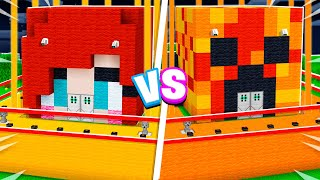 MOST Secure House Battle vs My Little Sister! - Minecraft