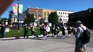 Barrie Pipes & Drums, Air Force March Past