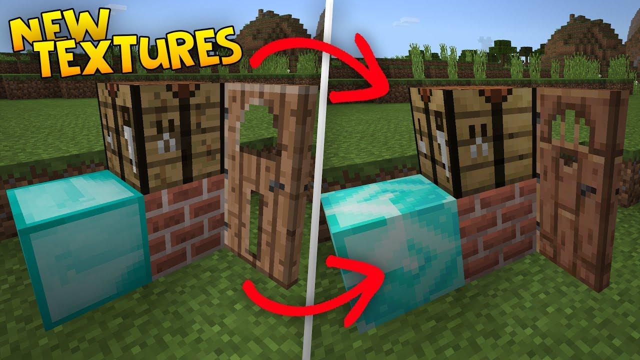 New Textures In Mcpe 1 2 Better Together Texture Update Changes