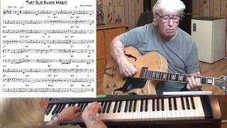 That Old Black Magic - Jazz guitar & piano cover ( Arlen & Mercer )