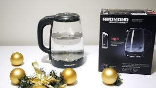 Обзор умного чайника REDMOND SkyKettle G200S