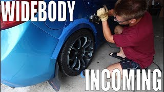 homepage tile video photo for FINALLY WIDEBODYING THE MAZDASPEED 3