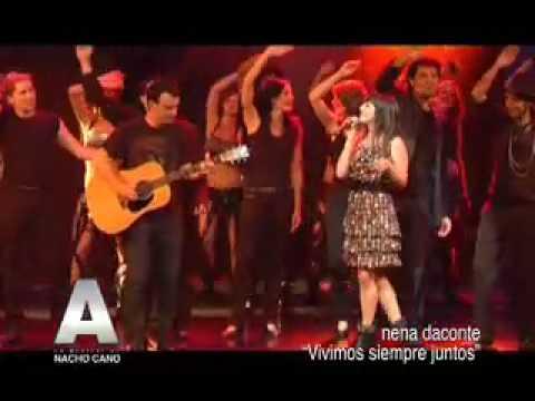 Nena Daconte - Vivimos siempre juntos (función 100 del musical