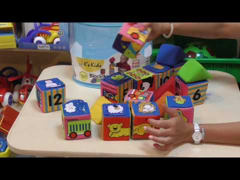 Набор развивающих кубиков 10458 K'S KIDS