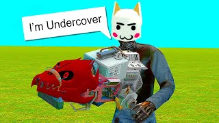 Undercover Homeless Super Admin Abuse - Gmod DarkRP Admin Trolling Funny Hilarious Moments
