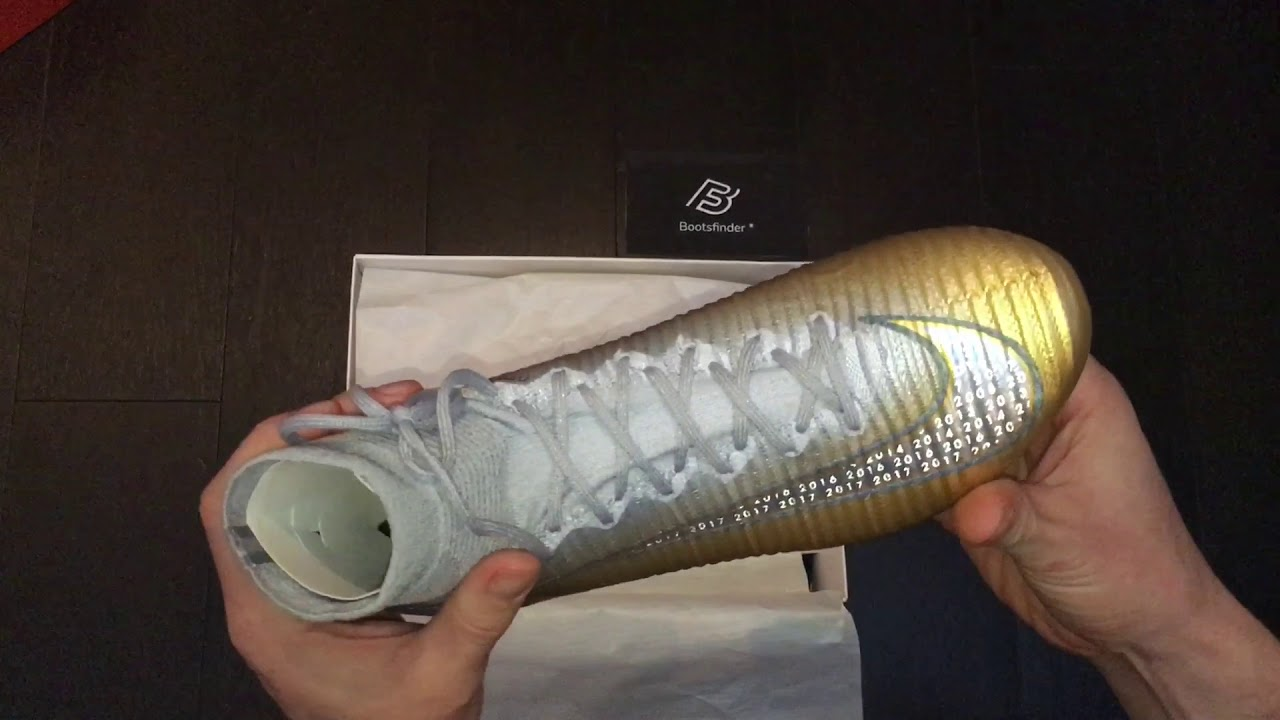 "the latest ca9f7 e8005 Unboxing Nike Mercurial Superfly CR7 ""Quinto Triunfo"" boots"