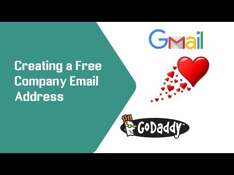 Create Free Email Account On GoDaddy with Gmail Connected