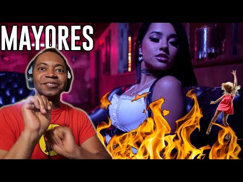 Becky G, Bad Bunny - Mayores (Music Video) - REACTION