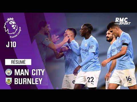 Résumé : Manchester City 5-0 Burnley – Premier League (J10)