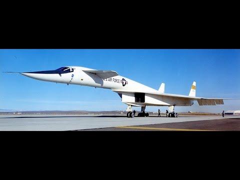 Знаменитые самолеты: XB-70 Valkyrie