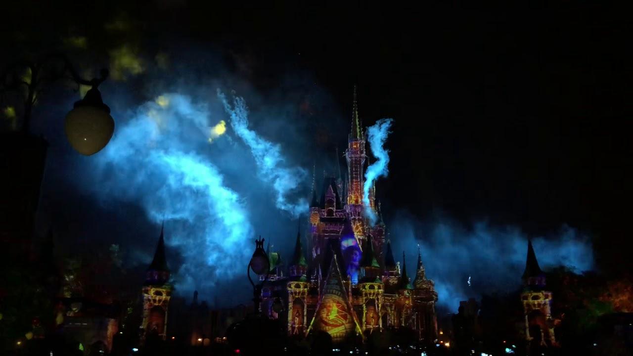 Disney fireworks 21 November 2018