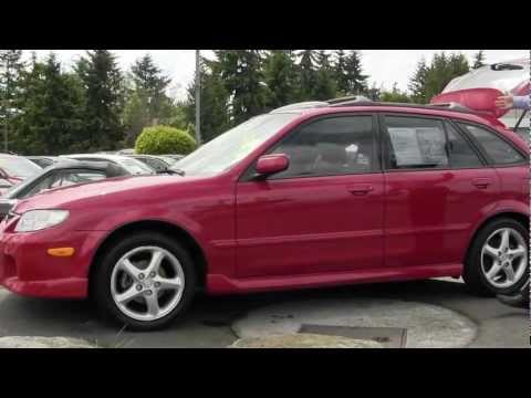 Walk Around Video of a 2002 Mazda Protege Wagon from Dougs Lynnwood Mazda