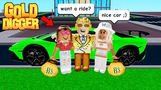 Exposing ROBLOX GOLD DIGGERS As A MILLIONAIRE!