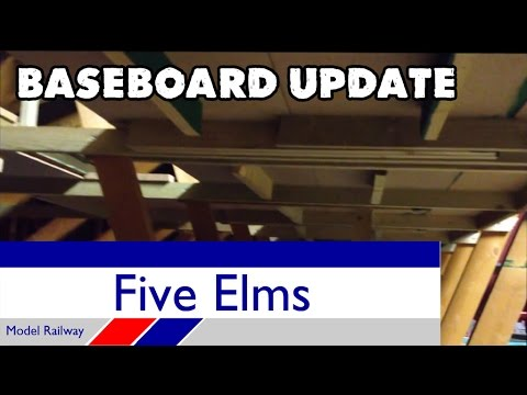 Five Elms Model Railway baseboard update