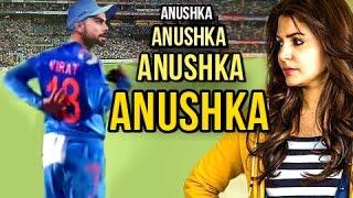 Fans TEASE Virat Kohli In The Name Of Anushka Sharma In Stadium - Virat's Epic Reaction