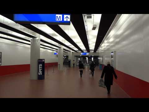 AMSTERDAM CENTRAL  - NEW METRO STATION -  HD1080p