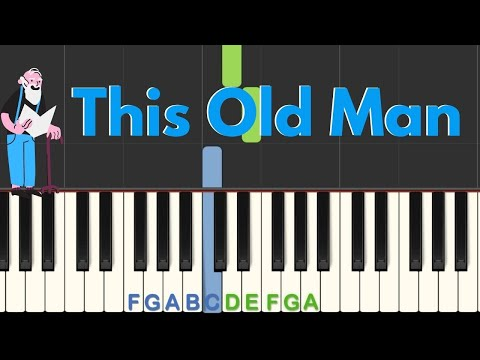 Easy Piano Tutorial: This Old Man