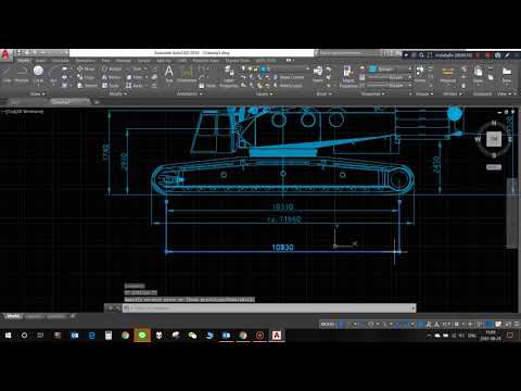 Repeat Crane Hook in AutoCAD - Detailed Explanation of Crane Hook