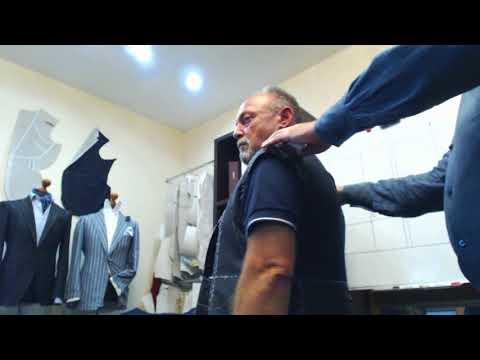 Первая примерка мужского пиджака. Выпуск №3.