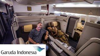 Garuda Indonesia First Class Review