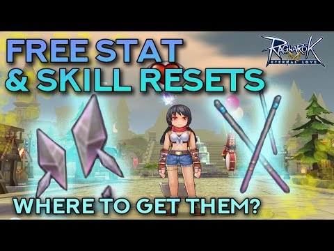 WHERE TO GET FREE STAT & SKILL RESETS | Ragnarok Mobile Eternal Love