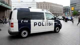アキーラさん!フィンランド・ヘルシンキ・警察車両1Police-car,Helsinki,Finland