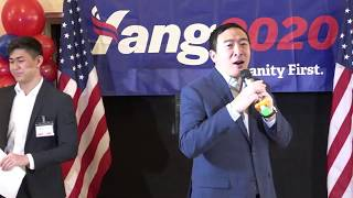 Andrew Yang Dallas 2020 Part one