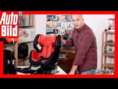 AUTO BILD Kindersitz-Testreihe: Recaro Zero 1 / Review / Test