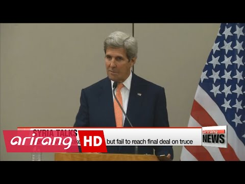 Progress made at Syria ceasefire talks: Kerry