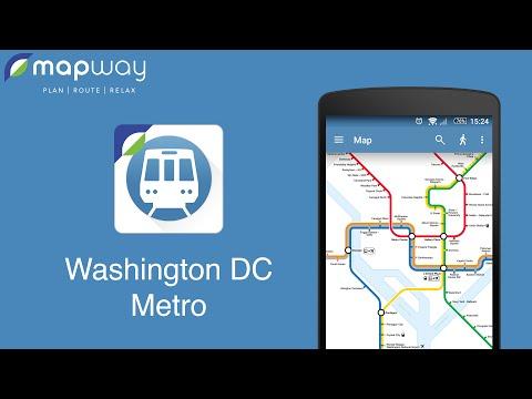 Washington DC Metro by Mapway
