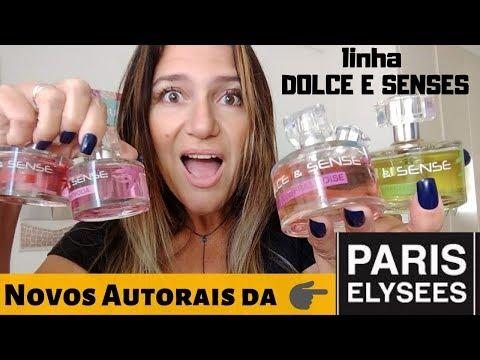 Novos  AUTORAIS Da PARIS ELYSEES / Linha DOLCE E SENSES