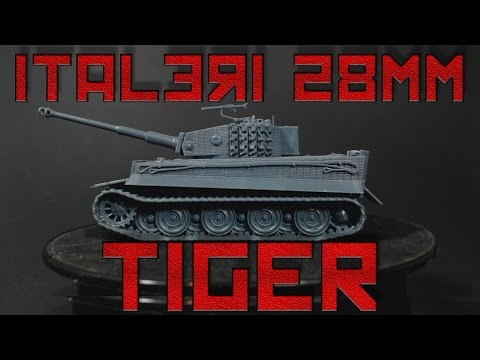 Italeri's Plastic Tiger 1 [28mm]
