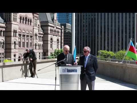 Azerbaijan Republic Day 95 in Toronto