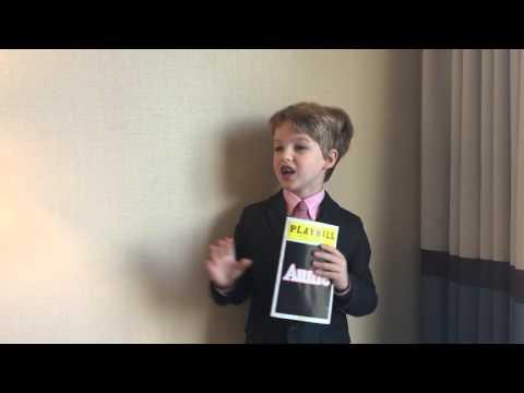Iain reviews Annie (Pantages Theatre) 10/18/2015