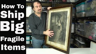 How To Safely Ship Big Picture Frames & Mirrors Complete With Glass