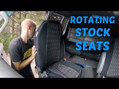 Installing rotating seats in a 2006 Ford Econoline E150 E250