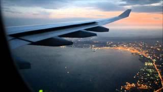 Lufthansa A330-300 - Frankfurt - Baku (Arriving Baku)