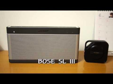 TDK TREK Micro A12 & BOSE Soundlink 3 음질 비교
