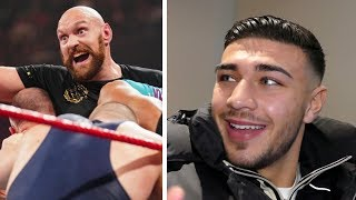 The FURYNATOR! Tommy wants to join Tyson Fury in WWE tag team