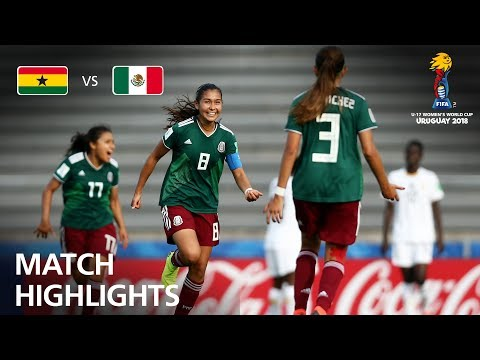 Ghana v Mexico - FIFA U-17 Women's World Cup 2018™ - Quarter-Final