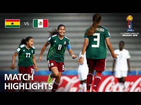 Ghana v Mexico - FIFA U-17 Women's World Cup 2018™ - Quarter-Final