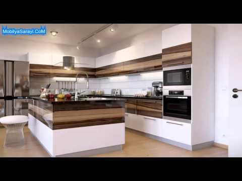 yeni modern mutfak dolab modelleri 2015 youtube. Black Bedroom Furniture Sets. Home Design Ideas